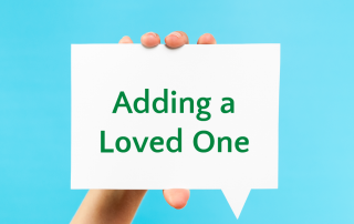 adding a loved one