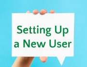 setting up a new user icon